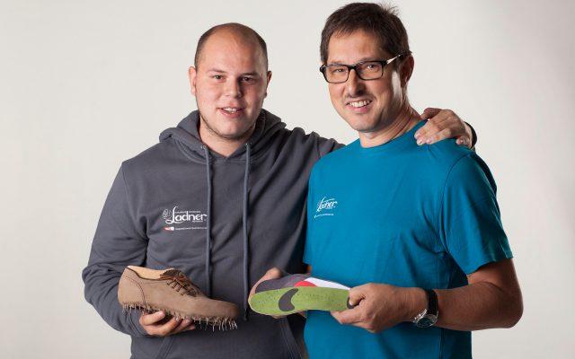Hermann Ladner und sein Sohn